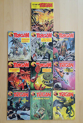 TRIGAN 1 - 10 - Hardcover Comic  (Rijperman-Verlag komplett) - TOP!