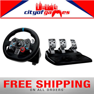 Logitech G29 Driving Force Racing Wheel for PS4,PS3 & PC 941-000115 Brand New