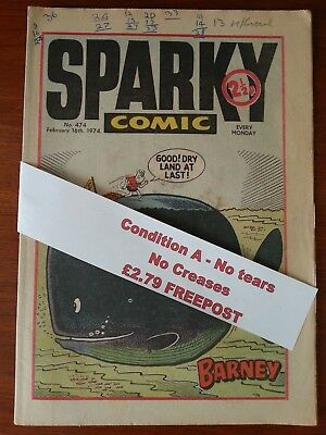 Sparky Comic Collectors item N.o 474 February 16th 1974 *FREEPOST*