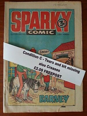 Sparky Comic Collectors item N.o 499 August 10th 1974 *FREEPOST*