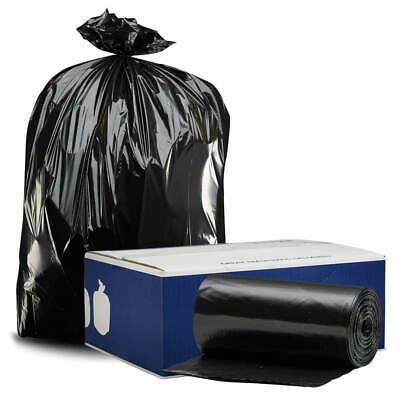 Plasticplace 95-96 Gallon Trash Bags 1.2mil thick - 50 bags on rolls
