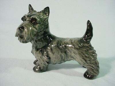 Goebel Gray Black  Scottie Dog Scottish Terrier Figurine