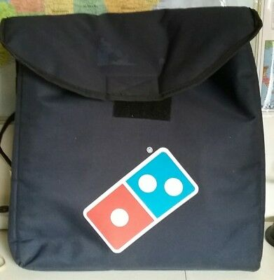 LARGE DOMINOS HEAT WAVE PIZZA DELIVERY BAG used in filming a movie.