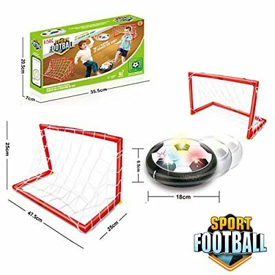 Air Power Soccer Ball,ANTIKE Kids Sports Toys Training Football Goal Set with 2