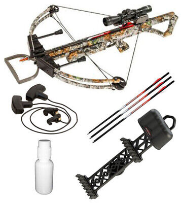 NEW 2019 PSE Coalition Camo Compound Hunting Crossbow 380FPS