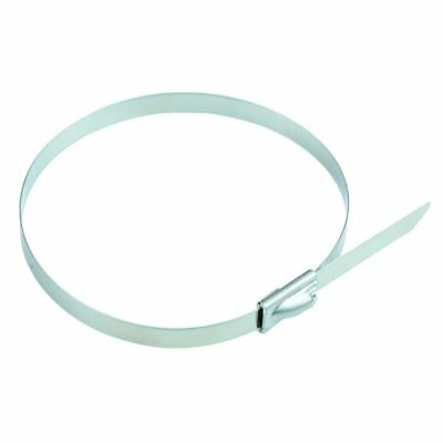 10 x Stainless Steel Cable Tie 7.9 x 520mm