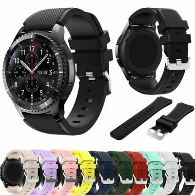 US Silicone Sport Band Wrist Strap Bracelet For SAMSUNG Gear S3 Frontier Watch d