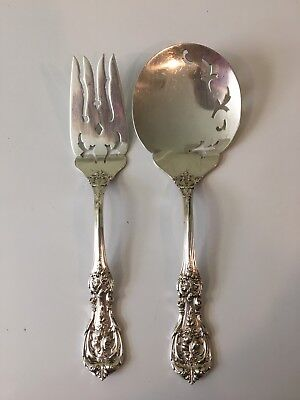 Vintage Reed & Barton Sterling Silver Serving Pieces-Francis the First🌹