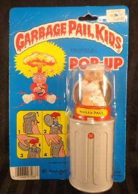 1986 Garbage Pail Kids MAULED PAUL POP UP 1985 Series 1 NEW FACTORY SEALED RARE