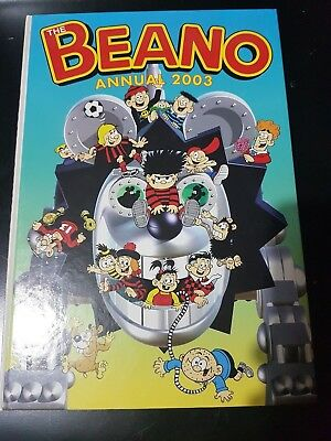 The Beano Book 2003 Annual | EXCELLENT Condition | FREE Next Day Shipping