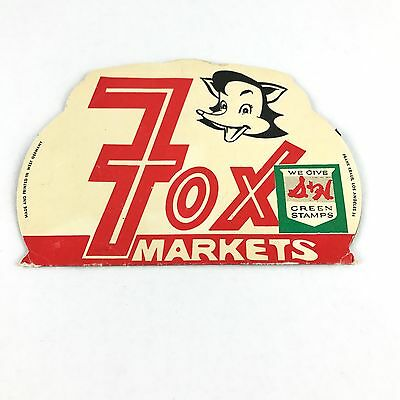 Fox Markets Hand Sewing Needles Vintage Made in Germany S & H Green Stamps