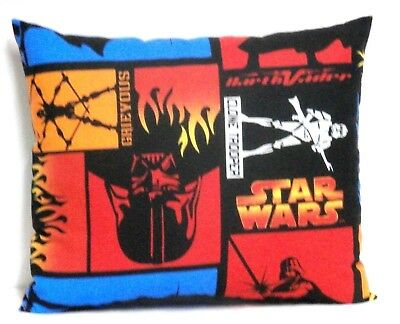 Star Wars Toddler Pillow on Multi-colors Cotton SW1-20 New Handmade