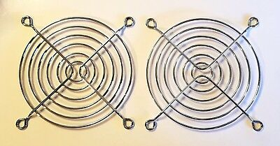 2pcs 92mm 9cm Metal Fan Finger Guard Grill - Suit 92mm PC Computer Cooling Fans