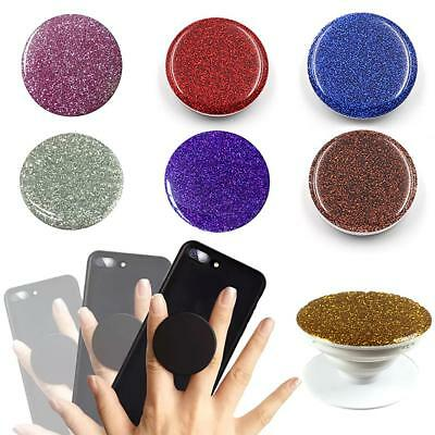 Glitter Pop Up Phone Holder Expanding Stand Finger Grip Mount for iPhone Samsung