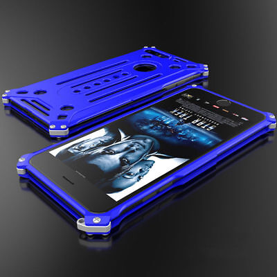 Heavy Duty Aluminum Metal Bumper Shockproof Case Cover For iPhone X 8 7 6s Plus