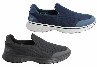 New Mens Skechers Go Walk 4 Incredible Comfortable Casual Shoes