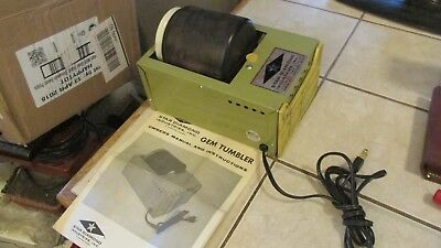 Star Diamond Rock Tumbler Model MT-3 with instructions works great