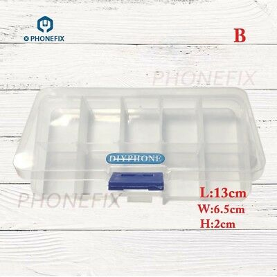 Plastic Storage Box SMD Metal Parts Screw Organizer Container for iPhone Repair
