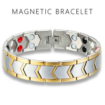 Magnetic Health Bracelet Carpal Tunnel Relief Arthritis Bio Therapy Chronic Pain