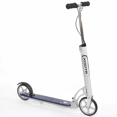 Xootr Scooter Dash Blue and White Foldable Adult Children Kick Bike XDA2-BLUE