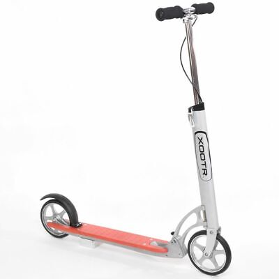 Xootr Scooter Dash Red and White Foldable Adult Children Kick Bike XDA2-RED