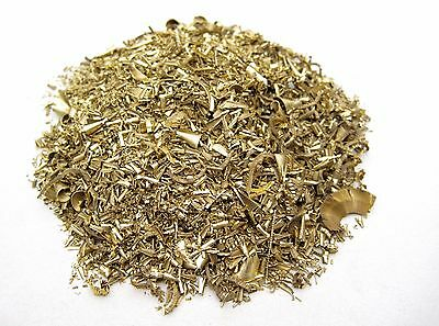 1LB Brass Shavings Sold by 1 Pound Wholesale Turnings Science Orgone Casting
