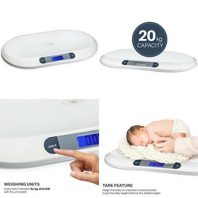 Digital LCD Baby Weighing Scale Infant Pet Dog Weigh Scale 44 LBS Weight Cap New