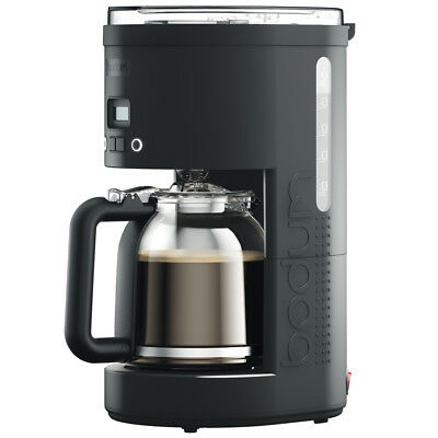 NEW Bodum Bistro Programmable Coffee Maker Black