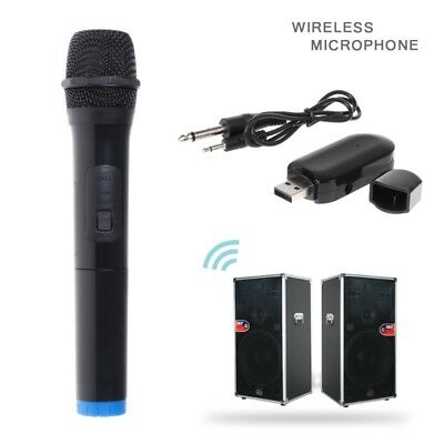 UHF Wireless Microphone Megaphone Handheld Mic with Receiver for Karaoke Speech