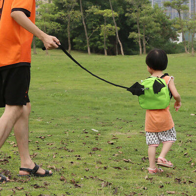 Child Backpack with Walking Harness Buddy Kid Toddler Safety Leash Tether Strap