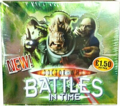 Doctor Who Battles in Time Invader Single Booster Pack Sealed box of 32