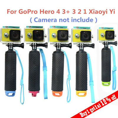 Floating Hand Grip Mount Non-slip For Gopro Hero Water Handle Accessory LOT hr