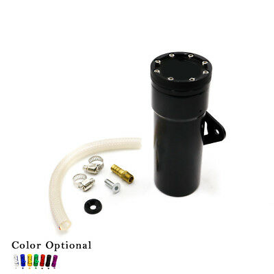 Motorcycle Styling Oil Catch Tank Aluminum Coolant Reservoir Catch Fuel Can Tank