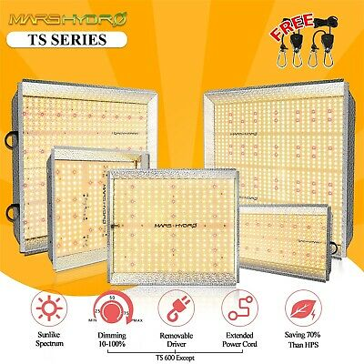 Mars Hydro 400W 900W 1600W LED Grow Light Full Spectrum Bloom for Indoor Plants
