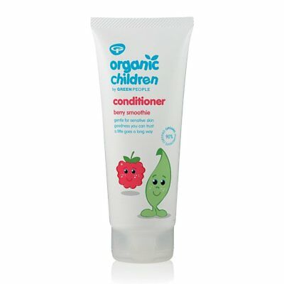Green People Organic Children Berry Smoothie Conditioner 200ml (Pack of 6)