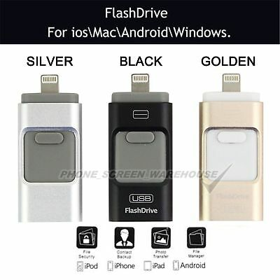 iPhone iPad USB iFlash Drive OTG Disk Storage Memory Stick For Android 128/256GB