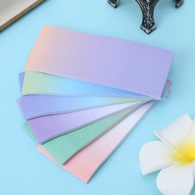Rainbow Memo Pad Paper Sticky Notes Notepad Stationery Note Stickers Bookmark