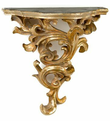 Console with ornaments wall bracket wall shelf rack antique style corbel
