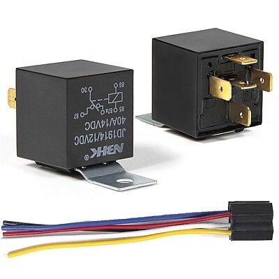 12V Automotive Changeover Relay 40A 5-Pin SPDT Swithcing Relays for Car Bike Van
