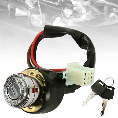 6 Wire Ignition Barrel Switch For Go-Kart Motorcycle Scooter Bike Quad ATV