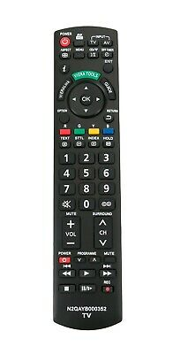 New N2QAYB000352 Remote for Panasonic Plasma Tv THP50G10A THP50X14A THP54S10A