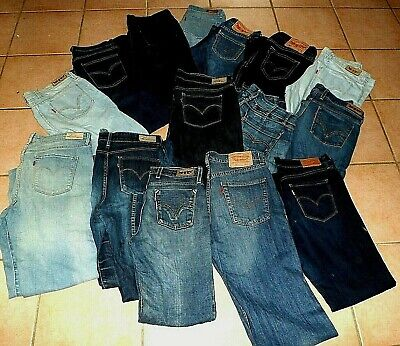 Levi's Coupe A Stretch Jeans 628 Taille 627 W25 Femme Haute Droite Or7O04q