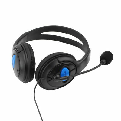 Stereo Wired Gaming Headset Headphone with Mic for PC PS4 Sony PlayStation 4