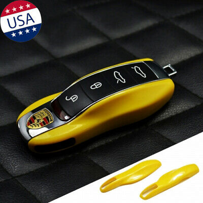 Gloss Blue Smart Key Fob Shell Case Cover for BMW E39 E89 E90 E91 F10 All Series