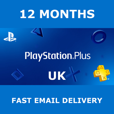 PS Plus 12 Months Membership PS4 *NO CODE* Playstation Online