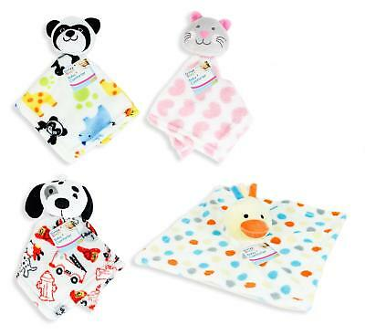 Super Soft Babies Comforter Blanket With Plush Head New Born Baby Comfort