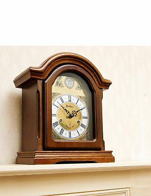Radio Controlled  Westminster Chime Arch Mantle Clock