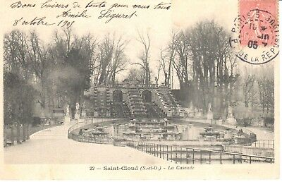 Carte Postale - (92) Hauts de Seine - CPA - Saint Cloud - Parc de Saint-Cloud