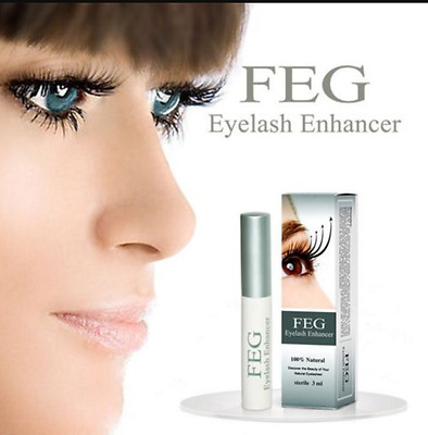 FEG Eyelash Eyebrow Enhancer EyeLash quick Growth Serum Liquid 100% ORIGINAL 3ml