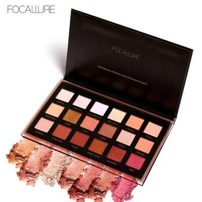 18colors Eyeshadow Makeup Shimmer Matte Pigment Eye Shadow Cosmetics Mineral